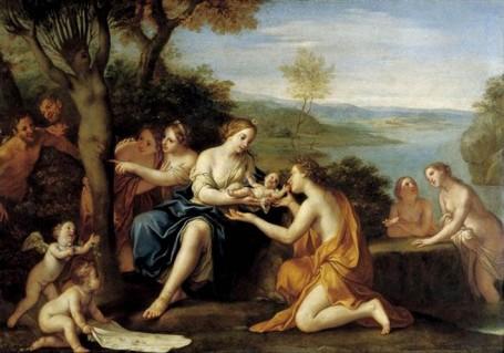The Birth of Adonis from Myrrha