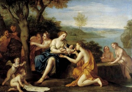 The Birth of Adonis from Myrrha